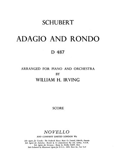 Adagio and Rondo, D. 487