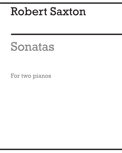 Sonatas for Two Pianos