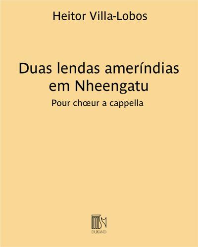 Duas lendas ameríndias em Nheengatu