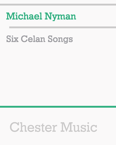 Six Celan Songs