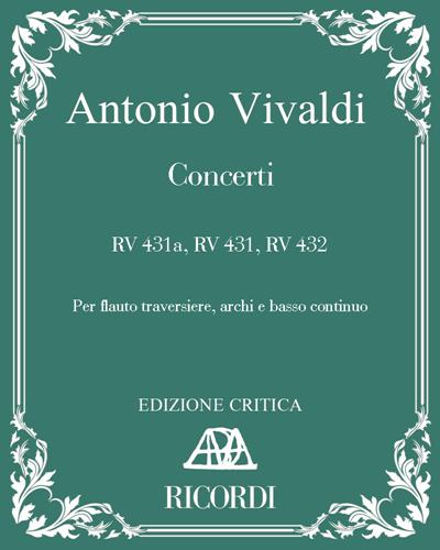 Concerti RV 431a, RV 431, RV 432