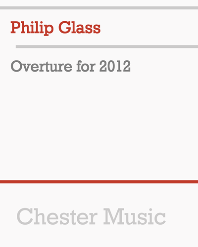 Overture for 2012