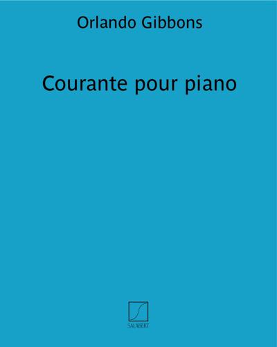 Courante pour piano