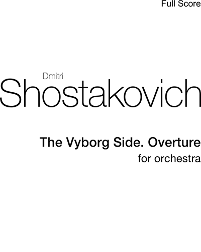 The Vyborg Side. Overture