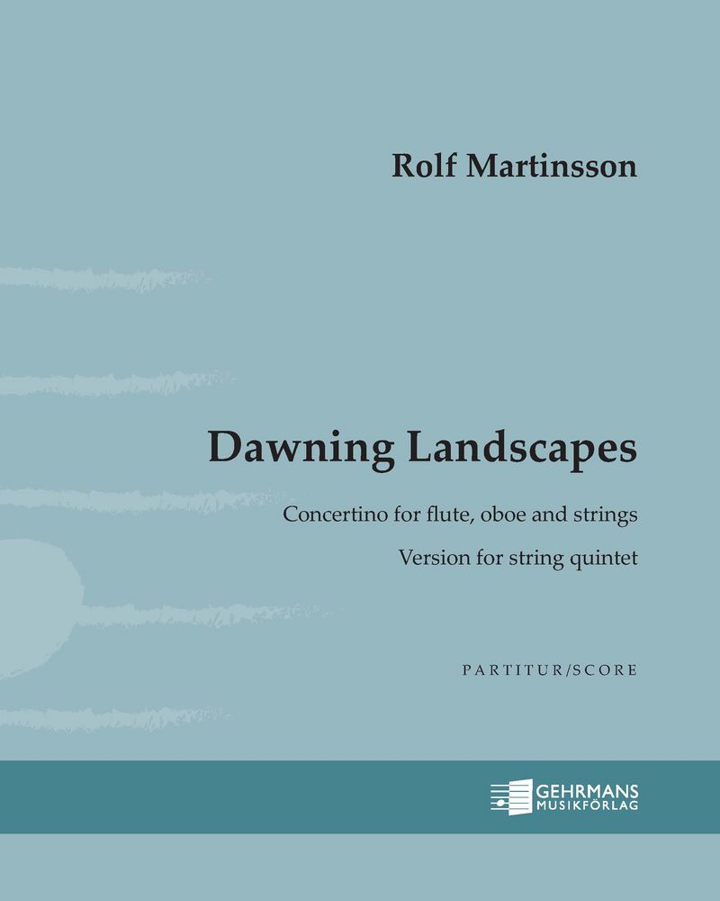 Dawning Landscapes [Version for String Quintet]