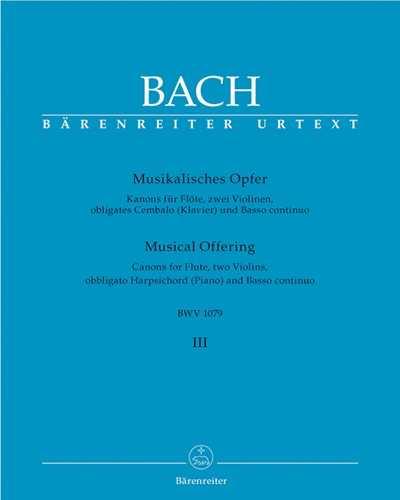 Musical Offering BWV 1079