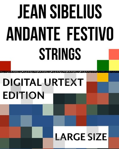 Andante festivo - Digital Urtext Edition (Large-Sized Tablet Screen)