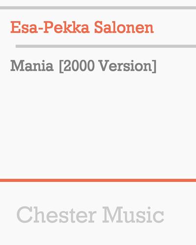 Mania [2000 Version]