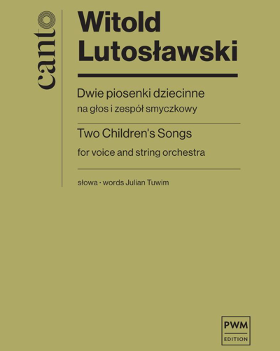 Two Children's Songs