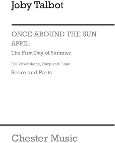 April: The First Day of Summer (for Vibraphone, Harp and Piano)