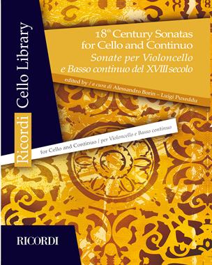 18th Century Sonatas for Cello and Continuo
