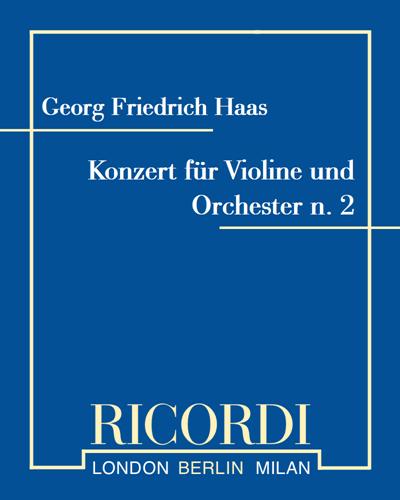 Konzert für Violine und Orchester n. 2