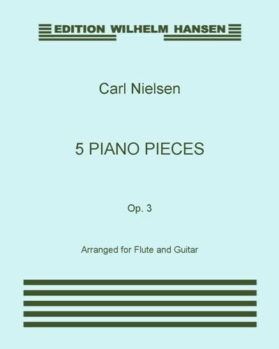 5 Piano Pieces, Op. 3