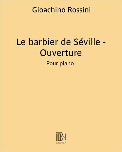 Le barbier de Séville (Ouverture)