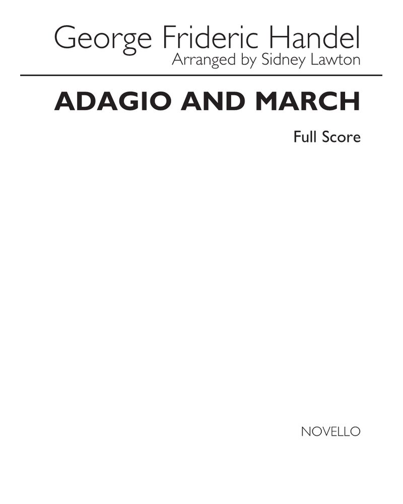 Adagio and March