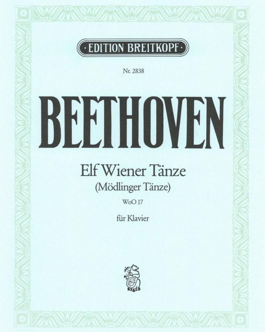 11 Wiener Tänze WoO 17 (Ausgabe für Klavier)
