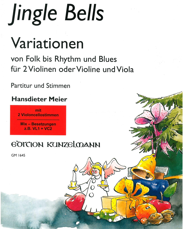 Jingle Bells Variationen von Folk bis Rhythm und Blues