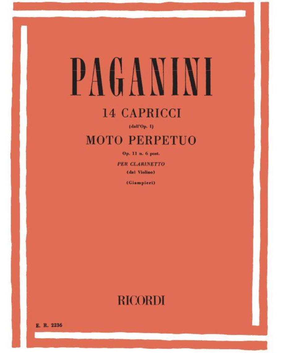 14 Capricci dall' Op. 1