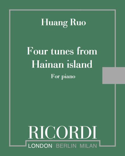 Four tunes from Hainan island