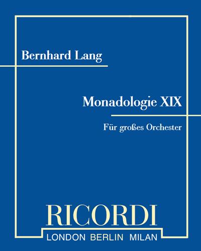 Monadologie XIX