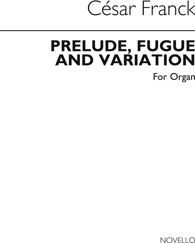 Prelude, Fugue and Variation, Op. 18 No. 8