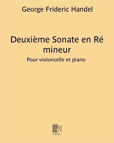 Deuxième Sonate en Ré mineur