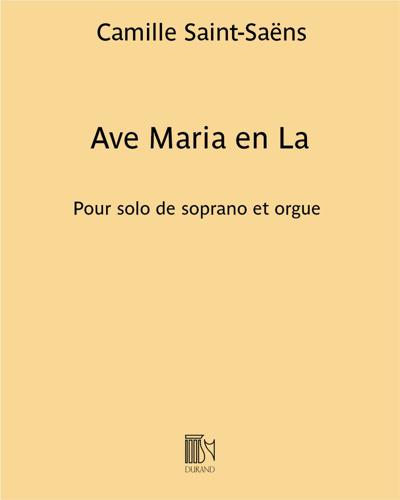 Ave Maria en La
