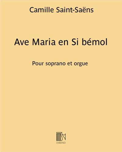 Ave Maria en Si bémol