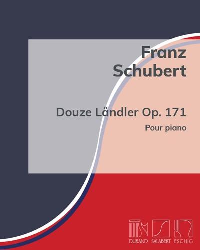 Douze Ländler Op. 171