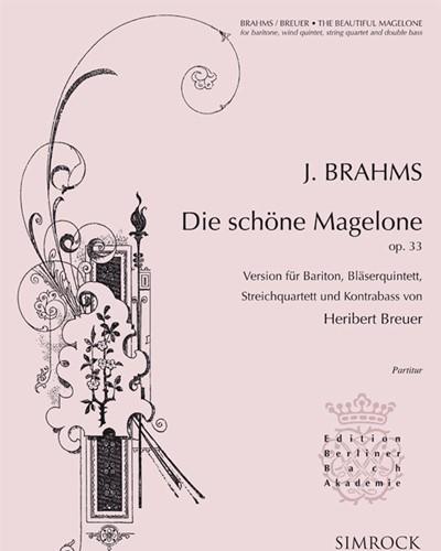 Die Schöne Magelone, op. 33