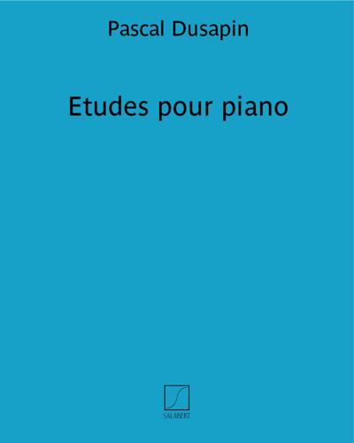 Etudes pour piano