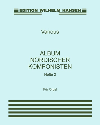 Album nordischer Komponisten, Hefte 2