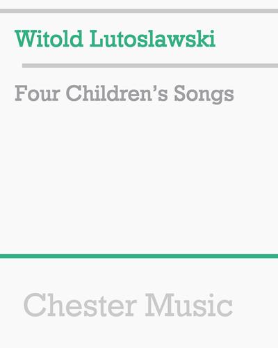 Four Children's Songs