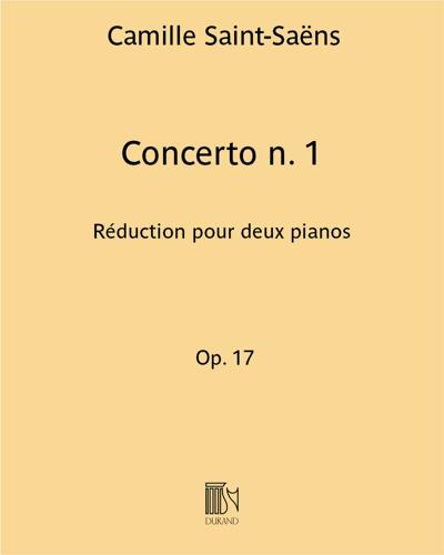 Concerto n. 1 Op. 17 - Réduction pour deux pianos