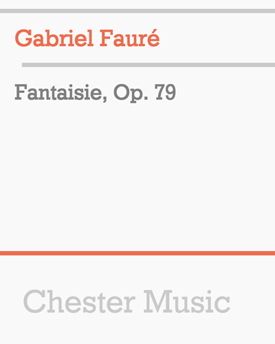 Fantaisie, Op. 79