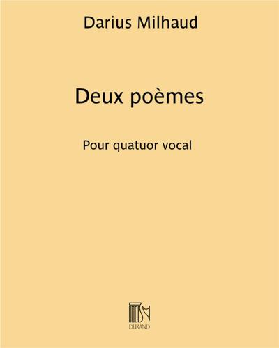 Deux poèmes