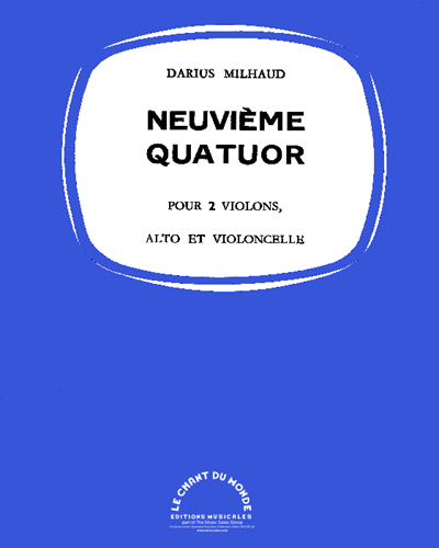 Neuvième Quatuor