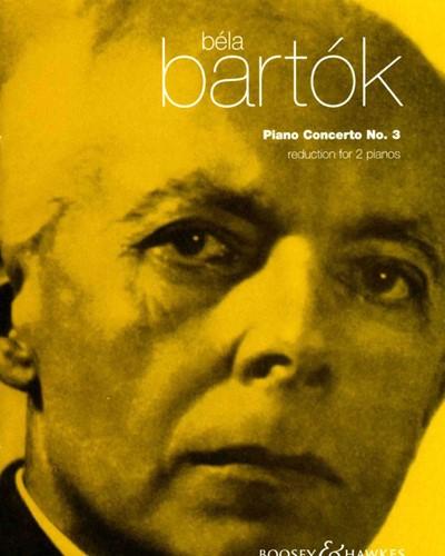 Piano Concerto No. 3, Sz. 119