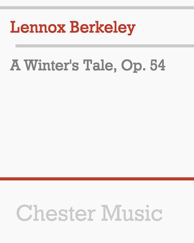 A Winter's Tale, Op. 54