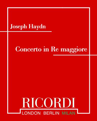 Concerto in Re maggiore per pianoforte e orchestra