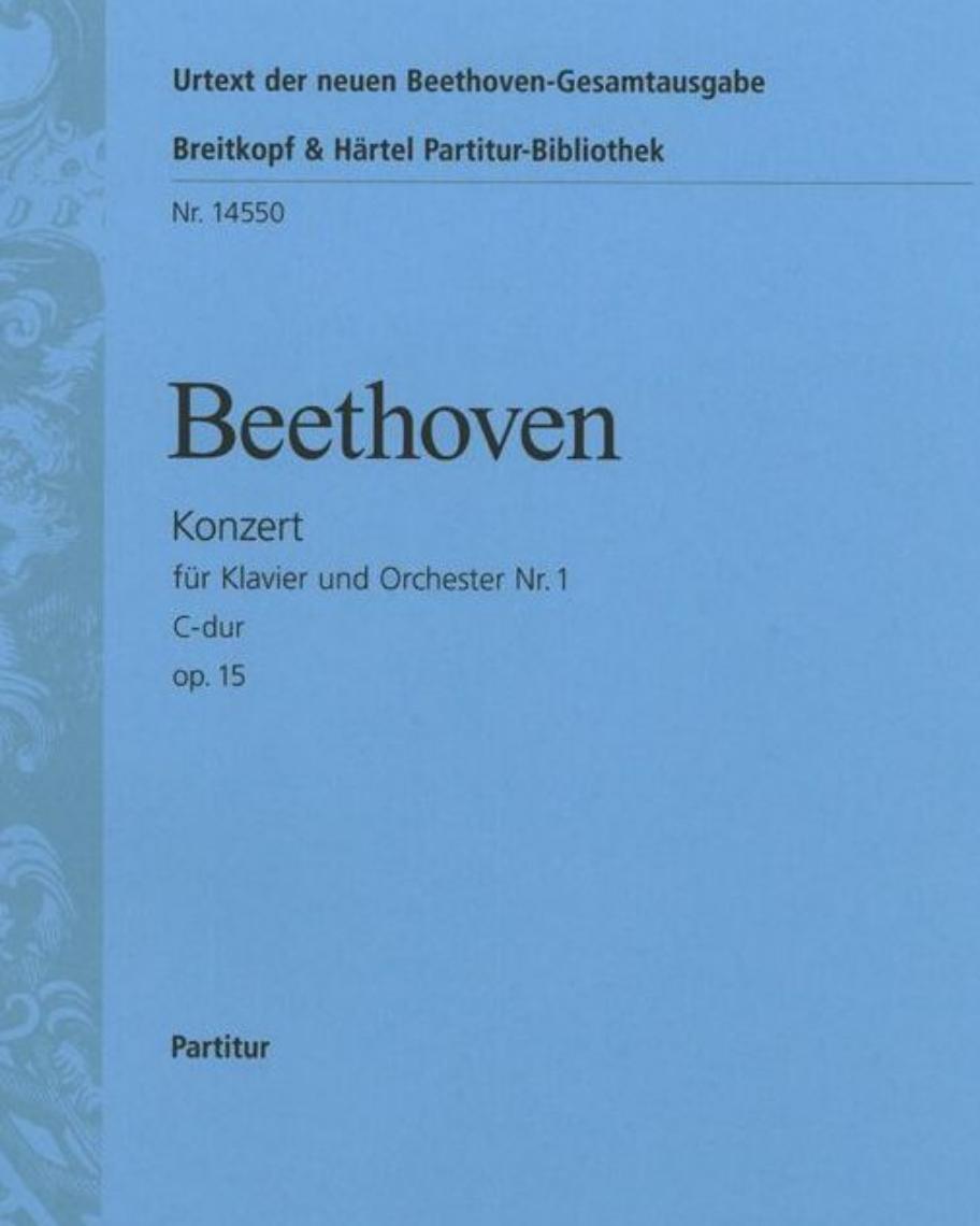 Klavierkonzert Nr. 1 C-dur op. 15