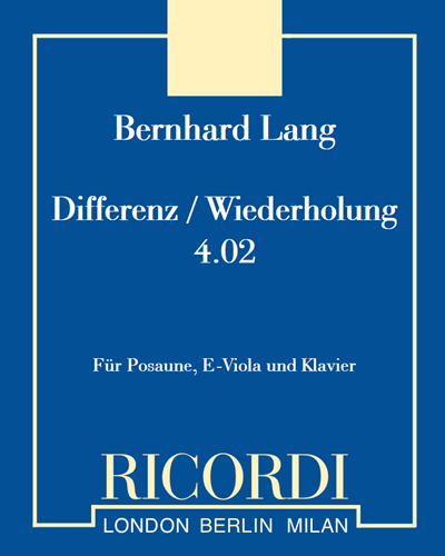 Differenz / Wiederholung 4.02