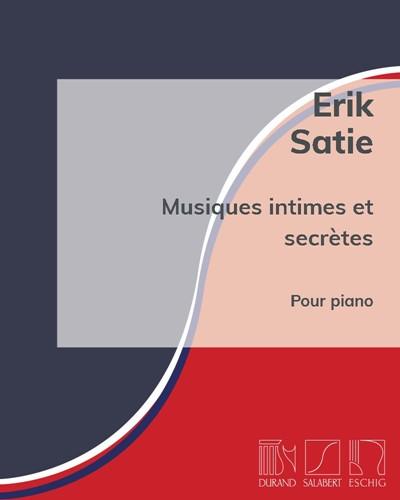 Musiques intimes et secrètes