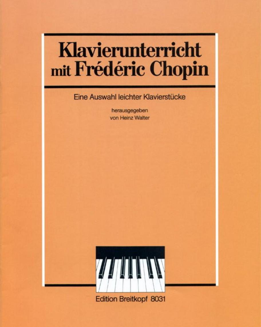 Eine Auswahl leichter Klavierstücke