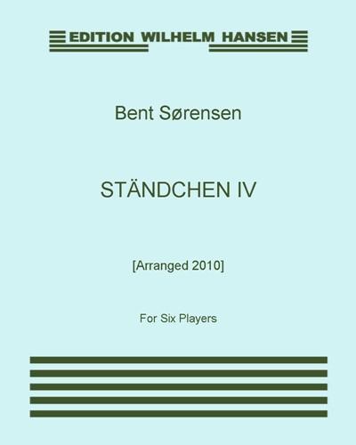 Ständchen IV [Arranged 2010]