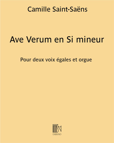 Ave Verum en Si mineur