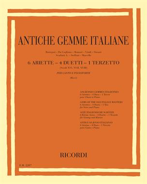 Antiche gemme italiane (Secoli XVI, XVII, XVIII)