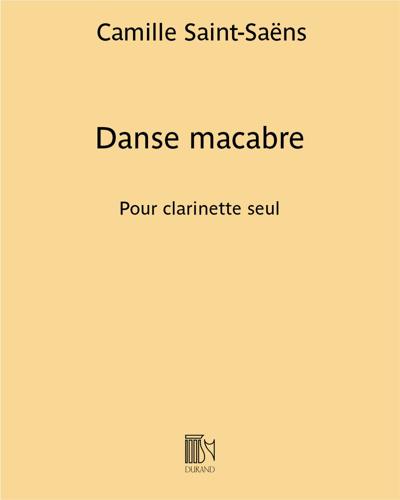 Danse macabre - Pour clarinette seul