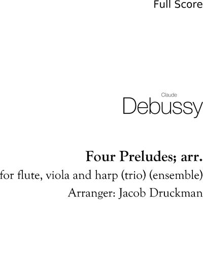 Four Preludes; arr.