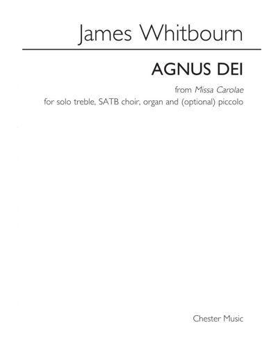 """Agnus Dei (from """"Missa Carolae"""")"""